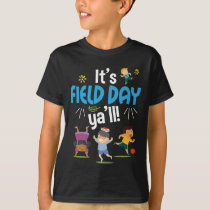 Field Day T-Shirt Kids Kindergarten 1st Gra
