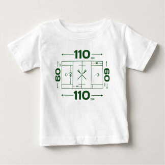 Field Dimensions Baby T-Shirt