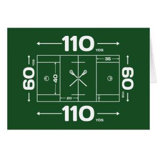 Field Dimensions Card