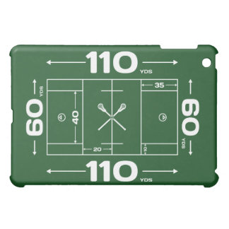 Field Dimensions Cover For The iPad Mini