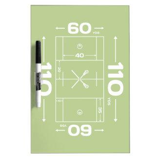 Field Dimensions Dry-Erase Board