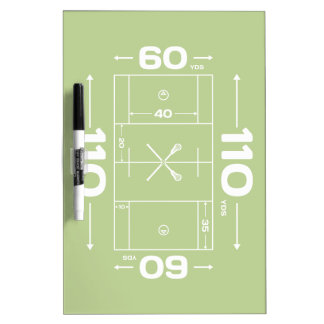 Field Dimensions Dry-Erase Boards