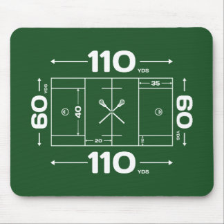 Field Dimensions Mouse Pad