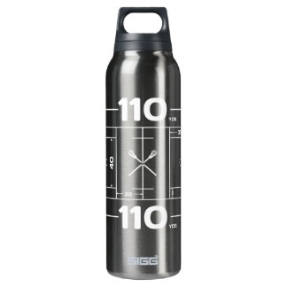 Field Dimensions 16 Oz Insulated SIGG Thermos Water Bottle