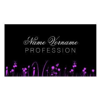 Field flowers Double-Sided standard business cards (Pack of 100)
