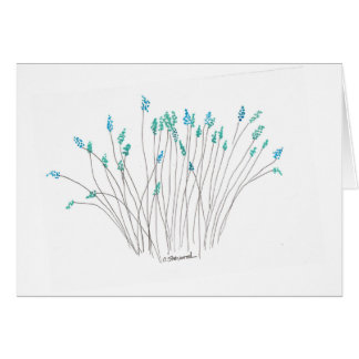 Field Flowers Greeting Card
