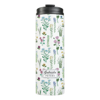 Field Flowers Floral | Thermal Tumbler