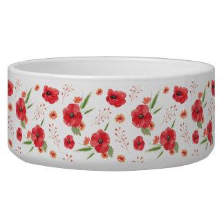 Field Flowers Pattern Bowl