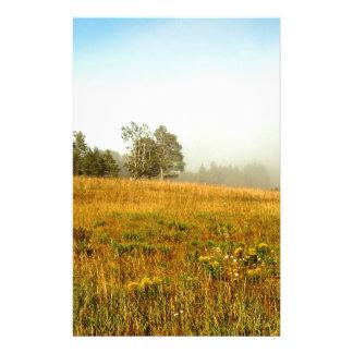 Field Fog Lifting Stationery