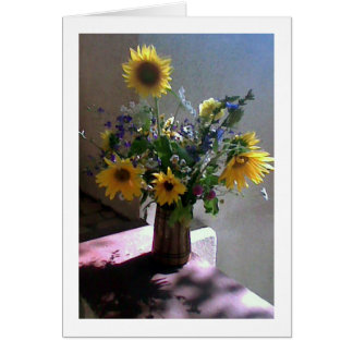 Field Fowers For You Card