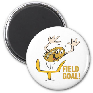 Field Goal 2 Inch Round Magnet