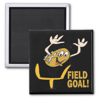 Field Goal 2 Inch Square Magnet