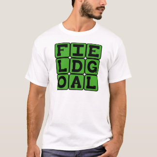 Field Goal, 3 Points in Football T-Shirt