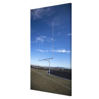 Field goal canvas print