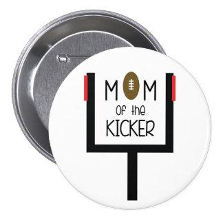 Field Goal Kicker Mom Button