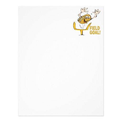Field Goal Custom Letterhead