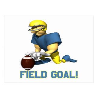 Field Goal Postcard