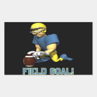 Field Goal Rectangular Sticker