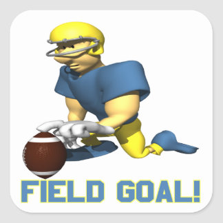 Field Goal Square Sticker
