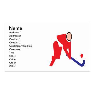 Field Hockey 5 Business Card