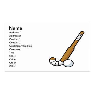 Field Hockey 6 Business Card