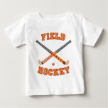 Field Hockey Baby T-Shirt
