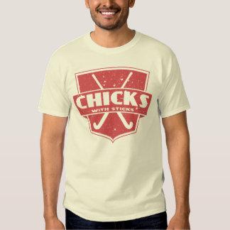 Field Hockey Chicks With Sticks T-shirt