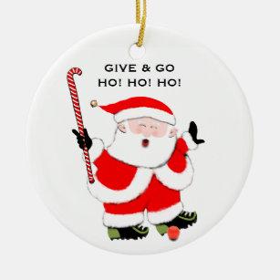 Field Hockey Christmas Ornaments | Zazzle
