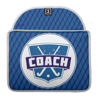 Field Hockey Coach Design Macbook Sleeve