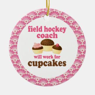 Field Hockey Coach Gift Ornament