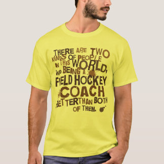 Field Hockey Coach Gift T-Shirt