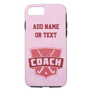 Field Hockey Coach iPhone 8/7 Case