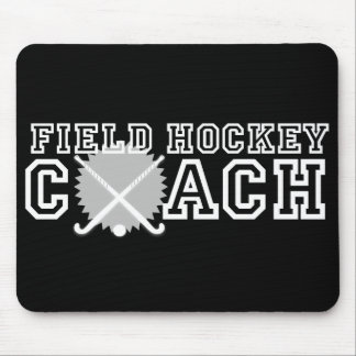 Field Hockey Coach Mouse Pad