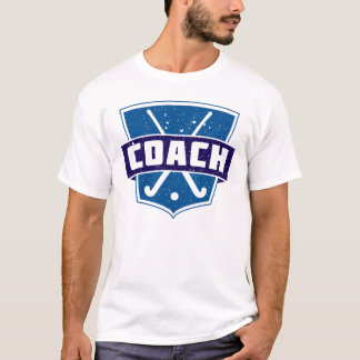 Field Hockey Coach Name & Number Print Tee