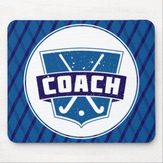 Field Hockey Coach Shield Mousepad