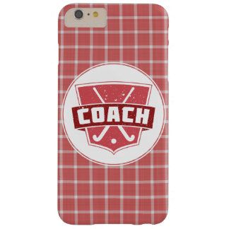 Field Hockey Coach Shield Phone Case