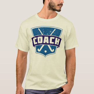 Field Hockey Coach Shield T-Shirt