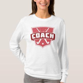 Field Hockey Coach Shield TShirt