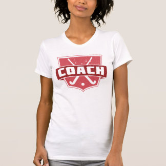 Field Hockey Coach Shield Women's Tee