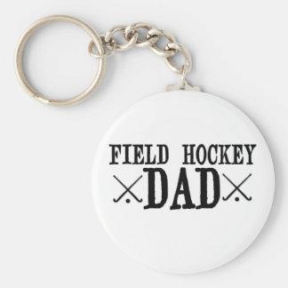 Field Hockey Dad Keychain