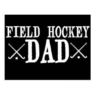 Field Hockey Dad Postcard