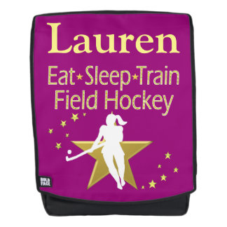 FIELD HOCKEY FOREVER PERSONALIZED BACK PACK