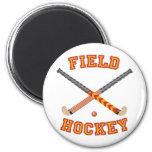 Field Hockey Fridge Magnet