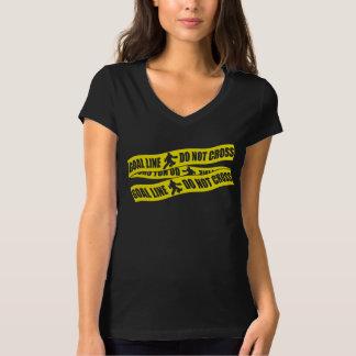 Field Hockey Goalie Goal Line Do Not Cross T-Shirt