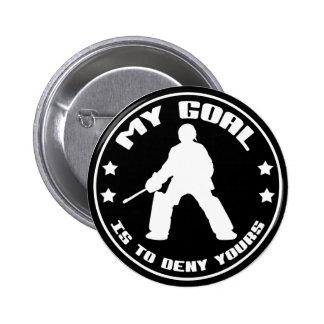 Field Hockey Goalie 'My Goal' Buttons