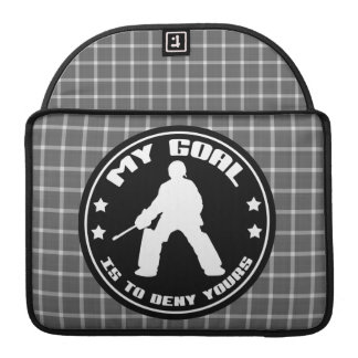 Field Hockey Goalie 'My Goal' Macbook Sleeve
