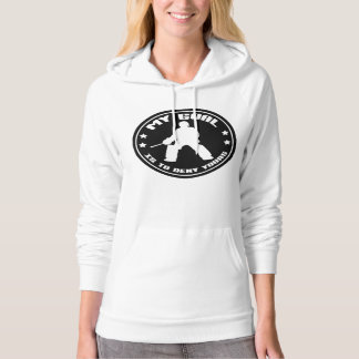 Field Hockey Goalie 'My Goal' Women's Hoodie