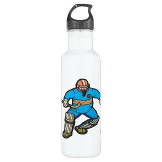 Field Hockey Goalie 24oz Water Bottle
