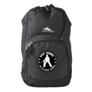 Field Hockey Goalie Quote Backpack