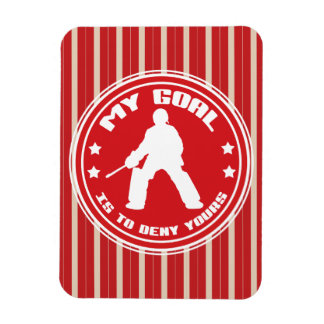 Field Hockey Goalie Quote Magnet